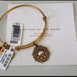 Alex And Ani mother's of the Bride Bracelet NWT